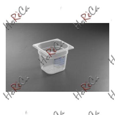 Гастроконтейнер из полипропилена  GN 1/6 производитель Hendi 176*162*(Н)65мм артикул 880487