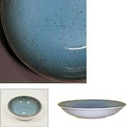 Цветной фарфор Фарн серия Нептун Siesta 9051ST тарелка для первого 500мл Farn, уп 6 шт.