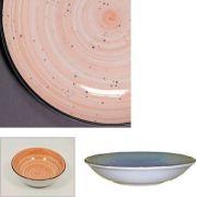 Цветной фарфор Фарн серия Персия Siesta 9051ST тарелка для первого 500мл Farn, уп 6 шт.