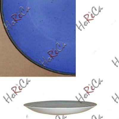 Цветной фарфор Фарн серия Синий Siesta 9081ST блюдо Восток 270мм Farn, уп 3 шт.