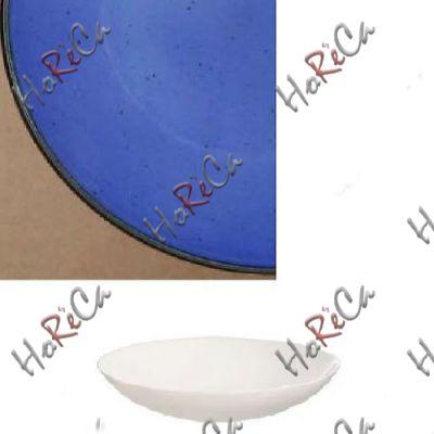 Цветной фарфор Фарн серия Синий Siesta 9084ST миска гладка 270мл Farn, уп 6 шт.