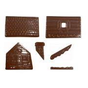 90-13632 Форма для шоколада домик производитель Martellato