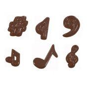90-13915 Форма для шоколада Ноты производитель Martellato