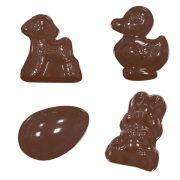 90-2114 Форма для шоколада животные производитель Martellato
