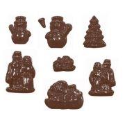 90-4307 Форма для шоколада Рождество производитель Martellato