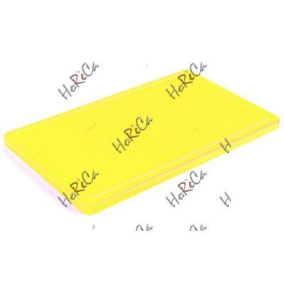 9853AM2510 Разделочная доска жёлтая 250*150*10мм, Durplastics.