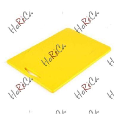 9853AM3810 Разделочная доска жёлтая 380*260*10мм, Durplastics.