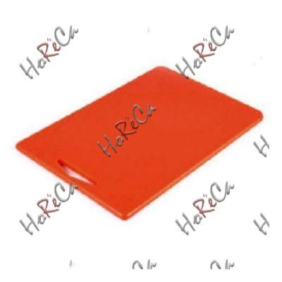 9853RJ2710 Разделочная доска красная 270*180*10мм, Durplastics.