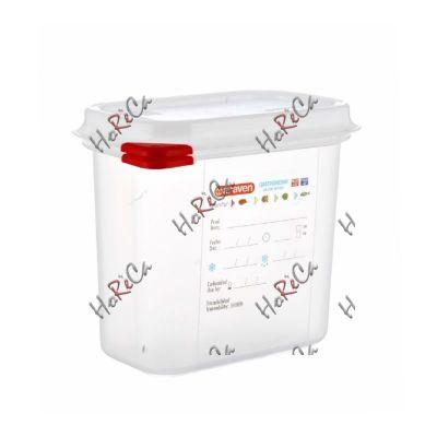 03022 Емкость для хранения с крышкой 1/9 - 176х108х150 мм полипропилен, Araven