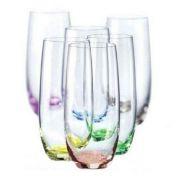 Bohemia Rainbow.Набор стаканов для воды 350мл(D4662)-6шт арт b25180-D4662