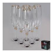 Bohemia Olivia.Набор бокалов для шампанского 190мл(20314)-6шт арт b40346-20314
