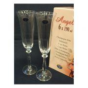 Bohemia Angela Набор бокалов для шампанского 190мл-6шт  арт b40600, цена за 1 шт.