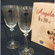 Bohemia Angela Набор бокалов для вина 350мл-6шт арт b40600, цена за 1 шт.