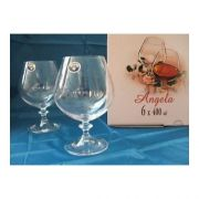 Bohemia Angela Набор бокалов для коньяка 400мл-6шт арт b40600, цена за 1 шт.