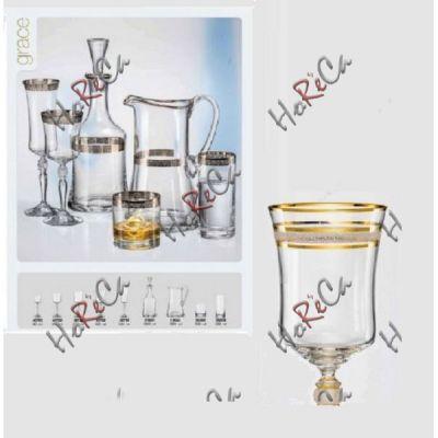 Bohemia Grace.Набор для вина 185мл (M8468)-6шт арт b40792-M8468