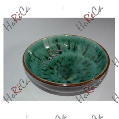 C-11545 Салатник глубокий 9 см (100мл) бирюзовый Alt ceramics, минимальный заказ 6шт.