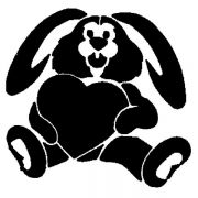 CON 1 Трафарет для торта Кролик Martellato