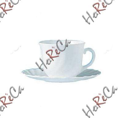 D6923 Блюдце під чашку для кави 12 см Trianon (заказ кратно 6шт)