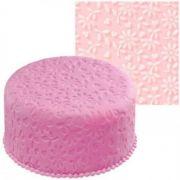 Текстурный коврик для мастики Цветок производитель Empire 490*490мм артикул EM8400