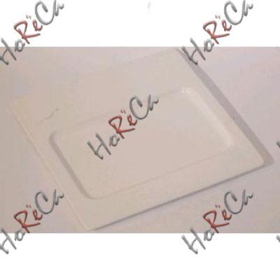 Alt porcelain тарелка квадратная под прямоугольный камень сланцевый/бамбуковую подставку 10 дюймов (25,5см) F2696-10