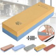 J100200 Камень точильный водный комбинированный для японских ножей Taidea зернистость 600/1500 для профессионального использования