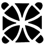 MASK 24 Трафаретт для торта узор - Квадрат Martellato
