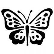 MASK 27 Трафарет для торта бабочка Martellato