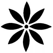 MS 6 Трафарет для капучино цветок Martellato