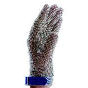 Перчатка кольчужная 5-палая с ремешком на кнопке, изготовление нержавеющая сталь, Niroflex Easyfit