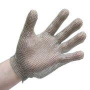 Перчатка кольчужная 5-палая с металической застежкой, изготовление нержавеющая сталь, Niroflex 2000