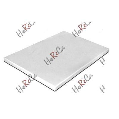 PE5NT40301 Кухонная доска белая 400*300*10 Durplastics.