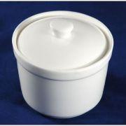 S0213 Сахарница 9х6см, 200мл Altezoro, фарфор белый теплый оттенок.