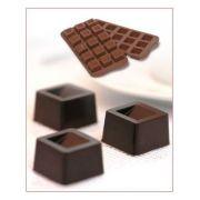 SCG02 Форма силиконовая для шоколада куб 26х26х18 мм производитель Silikomart