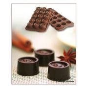 SCG04 Форма силиконовая для шоколада вихорь 28х20 мм производитель Silikomart