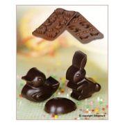 SCG05 Форма силиконовая для шоколада пасха 30х43х16 мм производитель Silikomart