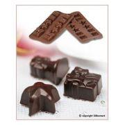 SCG06 Форма силиконовая для шоколада рождество 34х34х18,5 мм производитель Silikomart