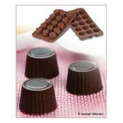 SCG07 Форма силиконовая для шоколада пралине 30х18,5 мм производитель Silikomart
