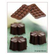 SCG08 Форма силиконовая для шоколада цветок 30х30х15,5 мм производитель Silikomart