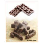SCG12 Форма силиконовая для шоколада Mr.Ginger 43х35х12 мм производитель Silikomart