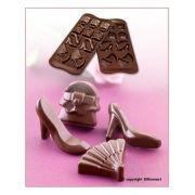 SCG14 Форма силиконовая для шоколада мода 41х30х12 мм производитель Silikomart