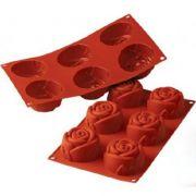 SF077/С Форма силиконовая роза d 76 mm, h 40 mm производитель Silikomart