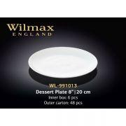 Вилмакс тарелка десертная круглая 20см арт - WL-991013 в упаковке 6 шт, цена за 1 шт