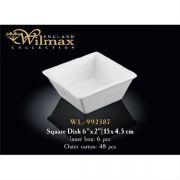 Wilmax емкость для закусок 15x4,5см арт - WL-992387 в упаковке 6 шт, цена за 1 шт