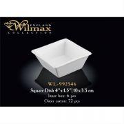 Wilmax емкость для закусок 10x3,5см WL-992546 в упаковке 6 шт, цена за 1 шт