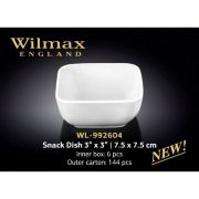 Wilmax емкость для закусок 7,5x7,5см WL-992604 в упаковке 6 шт, цена за 1 шт