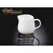 Wilmax молочник 200мл арт - WL-995005 в упаковке 6 шт, цена за 1 шт