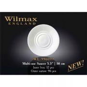 Wilmax блюдце универсальное 14см WL-996099 в упаковке 12 шт, цена за 1 шт