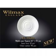 Wilmax блюдце универсальное 15см WL-996100 в упаковке 12 шт, цена за 1 шт